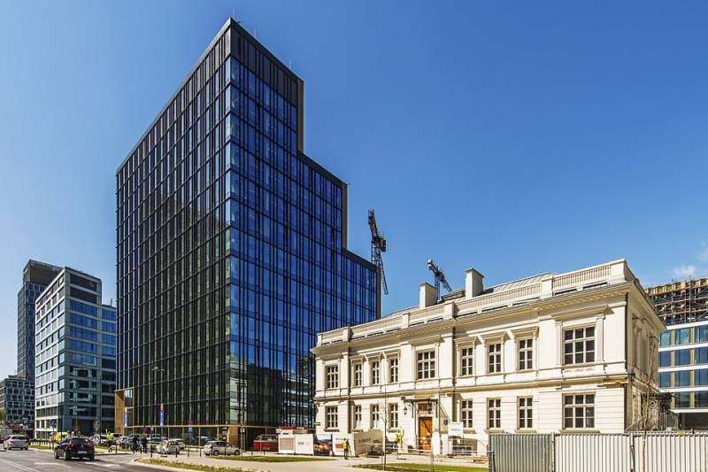 Another part of Warsaw Brewery finished. The Villa Offices receive an occupancy permit
