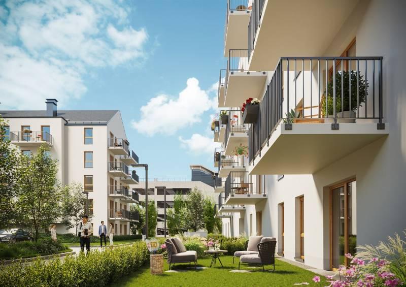 Nowoczesne osiedle wnowoczesnej technologii – drugi etap poznańskiego osiedla ENTER wsprzedaży
