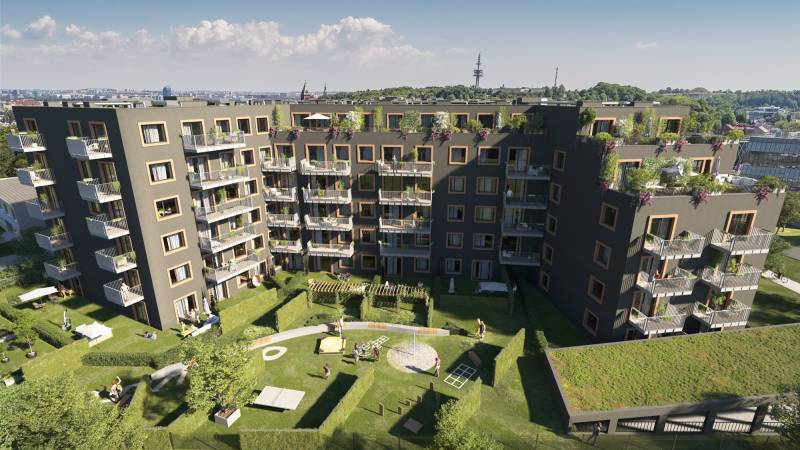 Come and live in ZAM – green alternative in Cracow's city center