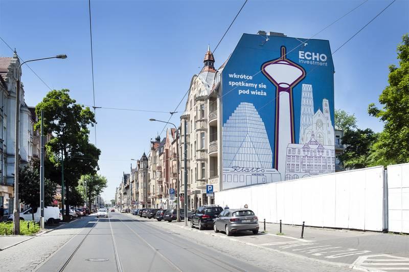 Nowy mural poznańskiego artysty już odsłonięty