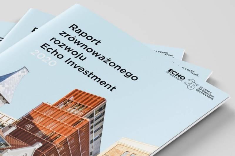Echo Investment publikuje pierwszy raport zrównoważonego rozwoju. Stawia nawspółtworzenie dobrych miast ibezpieczeństwo