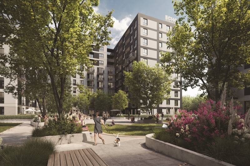 Zenit iscoming – Echo Investment will build the first sustainable residential inŁódź