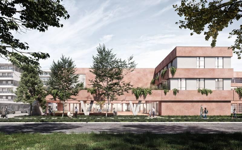 Echo Investment proponuje uzupełnienie biurowego Służewca mieszkaniami. Zbuduje też dla miasta szkołę ihektary miejskiej zieleni
