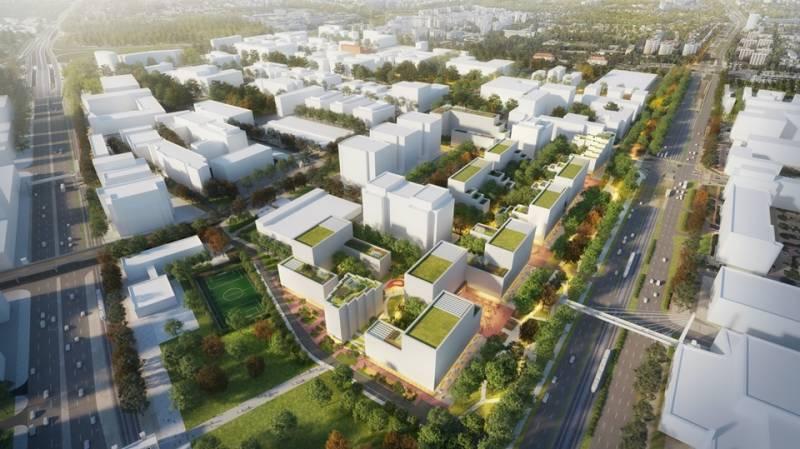 Nowy rozdział whistorii biurowego Służewca – Rada Miasta poparła projekt mieszkaniowy Echo Investment zeszkołą iterenami zielonymi