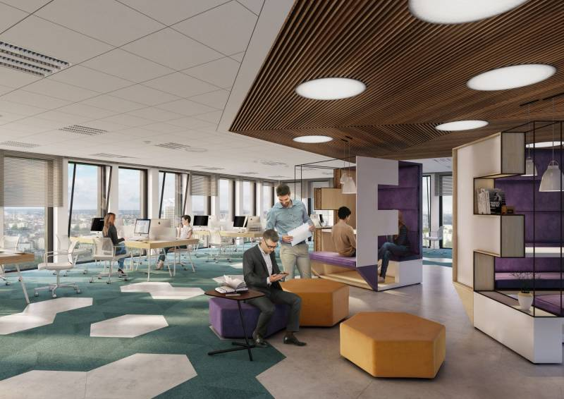250,000 sqm ofoffice space planned by Echo Investment