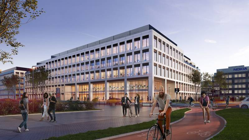 Echo Investment wants more in Wrocław. The construction of West 4 Business Hub to start