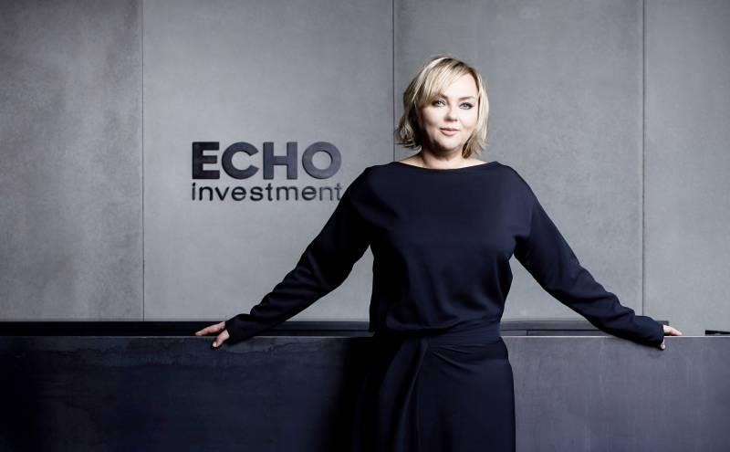 Małgorzata Turek joins the Management Board ofEcho Investment