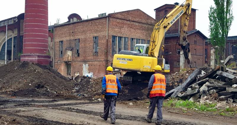 Echo Investment starts Fuzja construction on the site of the former Scheibler factory