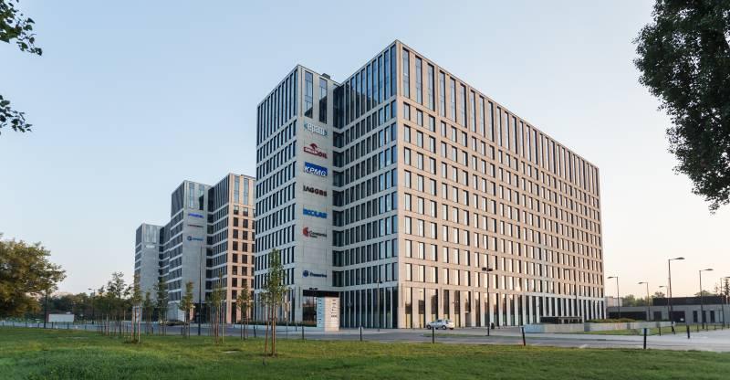 Echo Investment sprzedaje trzeci biurowiec kompleksu  O3 Business Campus wKrakowie