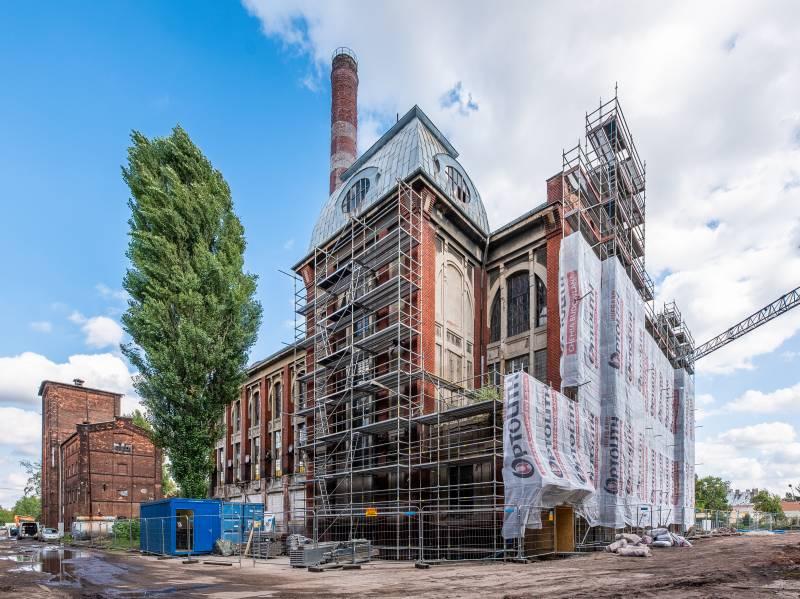 Echo Investment rozpoczęło modernizację  zabytkowej elektrowni Karola Scheiblera