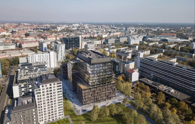 Echo Investment inwestuje weWrocławiu. W centrum stanie biurowiec MidPoint71