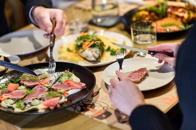 Surprising Adriatic cuisine inWarsaw Brewery. Pjaca restaurant will create afamily atmosphere anddelicious food