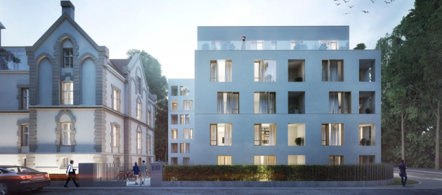 Ogrody Graua andGrota 111 - new residential projects ofEcho Investment inWrocław
