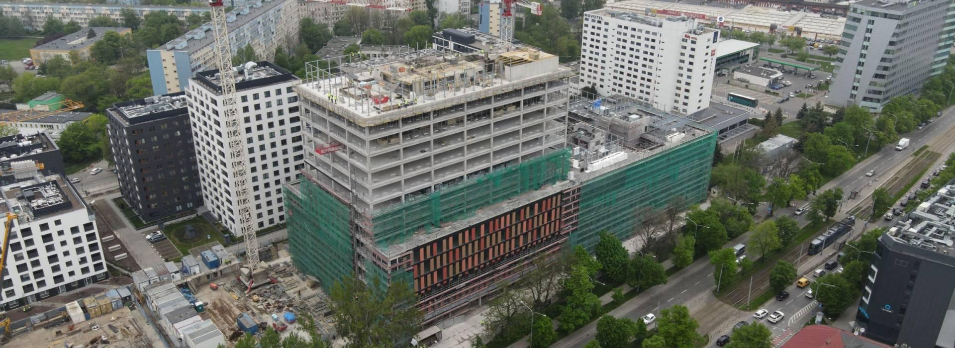 MidPoint71 - raport zbudowy maj 2021